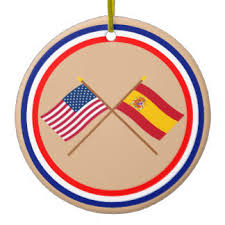 spain flag ornaments keepsake ornaments zazzle