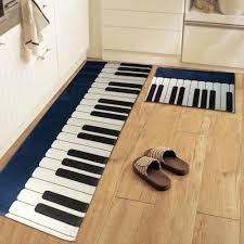 Kitchen Floor Rugs by Yazi Piano Flannel Kitchen Floor Mat Rug Anti Slip Door Mat Home