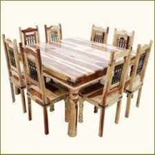 Dining Room Tables Seat 8 Square Kitchen Table Seats 8 Foter