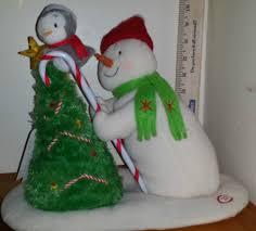 2010 hallmark jingle pals trimming the tree snowman singing