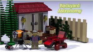 Backyard Astronomer Lego Ideas Backyard Astronomy