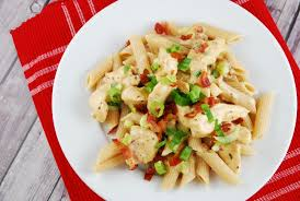 Pasta Recipes Chicken Bacon Ranch Pasta Recipe 6 Points Laaloosh