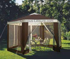 Argos Gazebos And Garden Awnings Buy Hexagonal Garden Gazebo With Mesh Panels At Argos Co Uk 89 99