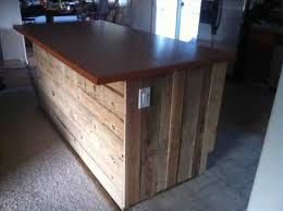 pallet kitchen island pallet island pallets and islands on amazing rustic