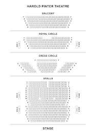 National Theatre Floor Plan Harold Pinter Theatre Seating Plan Londontheatre Co Uk