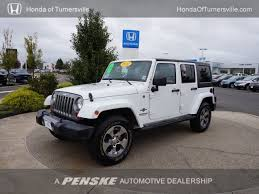 Used Jeep Wrangler Unlimited 2012 Used Jeep Wrangler Wrangler Unlimited Sport At Toyota Of