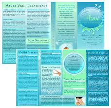 6 best images of spa brochure design spa brochure templates