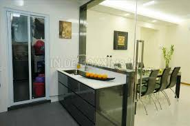 semi open kitchen designs closed kitchen designs minimalist