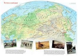 Mongolia On World Map Cycling Siberia