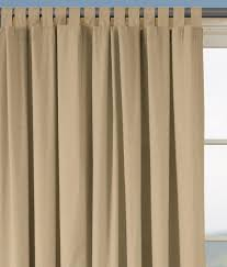 Tie Top Curtains Cotton by Insulated Weaver U0027s Wider Width Tab Top Curtains Country Curtains