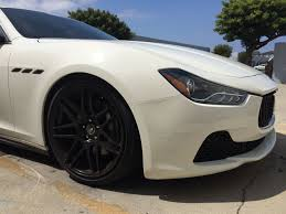 maserati ghibli modified maserati ghibli lowered on megan coilovers and 20