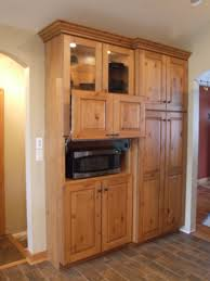 Microwave Cabinet BuiltIn Designs For Kitchen Remodel Ideas - Built in cabinets for kitchen