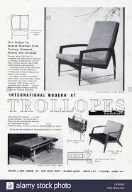 Modern Furniture Showroom by Old Advert For Trollopes U0027international Modern U0027 Furniture Showroom