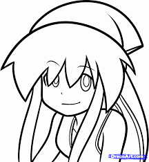 emo anime coloring pages color and draw bestofcoloring for