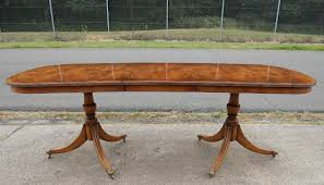Yew Dining Table And Chairs Extending Dining Table To Seat Eigth To Ten By Rackstraw Sold