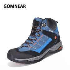 gomnear waterproof hiking shoes outdoor big size mans fishing