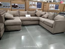 sofas center klaussner piece fabric sectional costco excellent