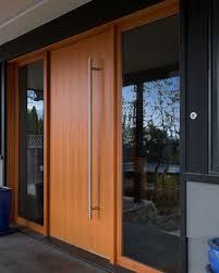 wood and glass exterior doors best 25 modern exterior doors ideas on pinterest modern front