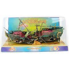 air sunken ship fish tank ornament decor for aquarium tank