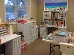 Home Craft Room Ideas - craft room for scrapbooking contemporary home office birmingham