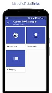 rom manager apk custom rom manager apk for bluestacks android apk