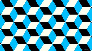 Blue And White Wallpaper by Wallpaper White 3d Cubes Blue Black 000000 00bfff Fffff0 330 179px