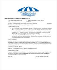 makeup contracts for weddings 5 wedding contract sles templates in pdf