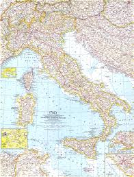 italy map 1961 italy map historical maps