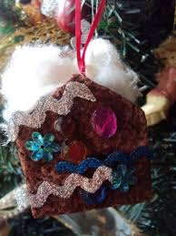 gingerbread house ornaments happy hooligans ornaments