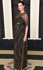 Anne Hathaway Vanity Fair 2016 Oscars After Parties Part 3 The Democracy Diva