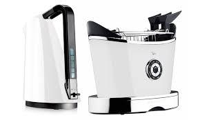 Black Kettle Toaster Set Bugatti Kettle And Toaster Set Groupon