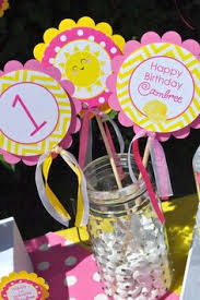 you are my sunshine is the perfect birthday party decorations for