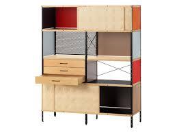 Schreibtisch Mit Regalaufsatz Regal Aus Laminat Eames Storage Unit Shelf By Vitra Design Charles