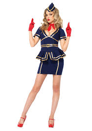 ringmaster halloween friendly skies flight attendant costume