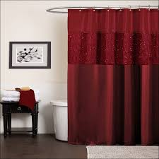 interiors design fabulous burgundy fabric shower curtain kmart