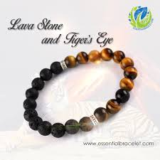 tiger eye jewelry its properties tiger s eye lava essential bracelet essential bracelet