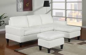 Cream Colored Sectional Sofa by Sausalito Cream Leather Small Sectional Sofa S3net Sectional