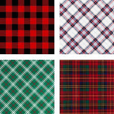 christmas plaid wrapping paper stylish gift wrap we shop girl daily