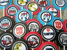 transformer cake toppers free printable transformers cupcake toppers transformers