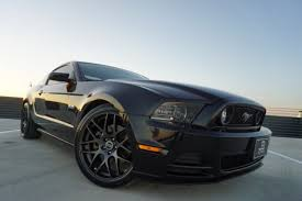 Black Mustang 2014 2014 Ford Mustang Gt Coupe Premium W 6 Speed Manual 35730 Miles