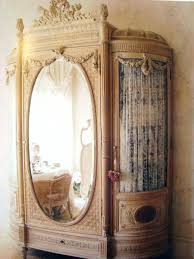 Vintage Armoire Wardrobes Mirror Fronted Wardrobes French Antique Armoire