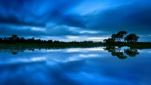 blue color reflection 1920 x 1080 water photography