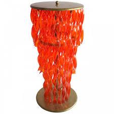 Orange Floor Lamp Italian Venetian Murano Glass Floor Lamps Vintage And Antique