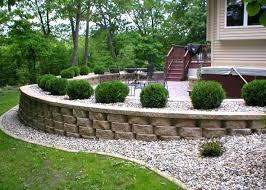 Small Garden Retaining Wall Ideas Landscaping Retaining Wall Ideas Ghanko