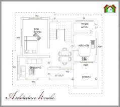 4 bedroom single house plans kerala home plan single floor home plans 4 bedroom single floor