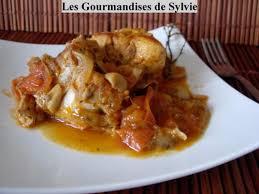 cuisiner le lapin en sauce lapin sauce à la tomate et aux chignons les gourmandises de sylvie