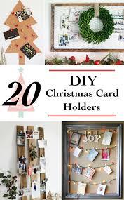 christmas holder 20 diy christmas card holder ideas anika s diy