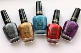 milani specialty nail lacquer one coat glitter makeup and beauty