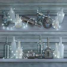 3d model garland lights and bottle cgtrader