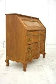 oak writing bureau furniture antique wrigint bureau in oak